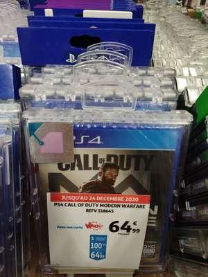 Call of Duty - Modern Warfare sur PS4