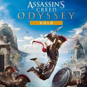 Assassin's Creed Odyssey Gold Edition : Jeu de base + Season Pass + AC 3 & AC Liberation Remastered sur PS4 (Dématérialisé, Store BR)