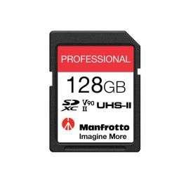 Carte mémoire SDXC Manfrotto Professional UHS-II V90, U3 280MB/s - 128 Go (manfrotto.com)