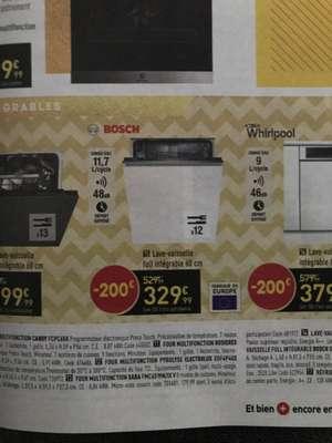 Lave vaisselle Bosch SMV41D00EU - 12 couverts