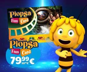 Abonnement annuel aux 6 parcs d'attractions Plopsa Fun Card (frontaliers Belgique)