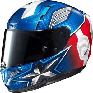 Casque Moto HJC RPHA 11 Captain America Marvel