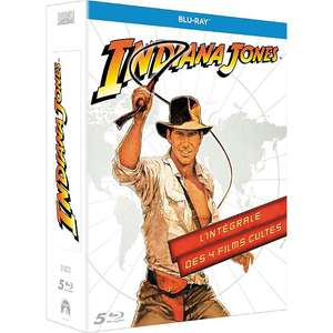 Coffret Blu-Ray Indiana Jones (4 films) à 12.5€ ou Coffret Harry Potter 8 films à 20€