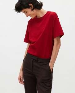 Sélection d'articles en promotion - Ex : T-shirt en coton manches courtes ample