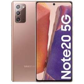 "Smartphone 6.7"" Samsung Galaxy Note 20 5G - 256Go (621€ Avec code RAKUTEN30 + 32.59€ Rakuten Points)"