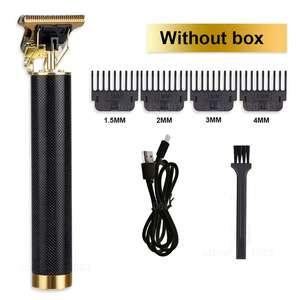 Tondeuse électrique rechargeable barbe et cheveux (Sans Boite)