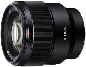 Objectif photo Sony FE 85mm f1.8