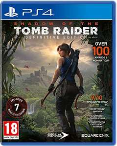 Shadow of the Tomb Raider - Definitive Edition sur PS4 (Jeu + DLC)