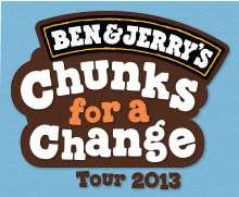 Chunks for a Change Tour 2013, Glaces Gratuites