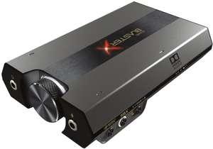 Carte son externe USB Creative Sound BlasterX G6 - son 7.1
