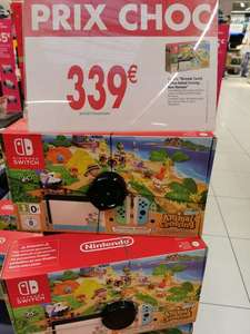 Pack Console Nintendo Switch Animal Crossing New Horizons Edition + Jeu Animal Crossing New Horizons - Bourges (18)