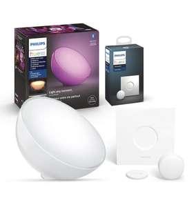 Lampe LED Connectée Philips Hue Go + Smart Bouton
