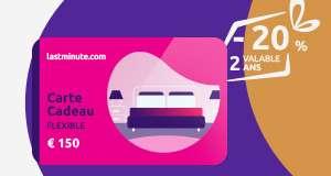 Carte cadeau Flexible de 150€