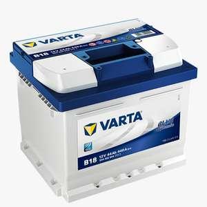 Batterie de Voiture Varta B18 -12V, 44Ah, 440Amps