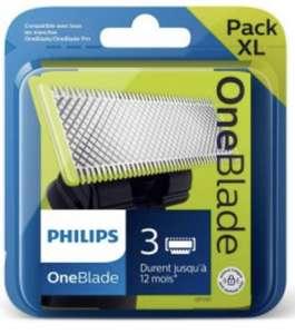 Pack XL de 3 lames Philips OneBlade