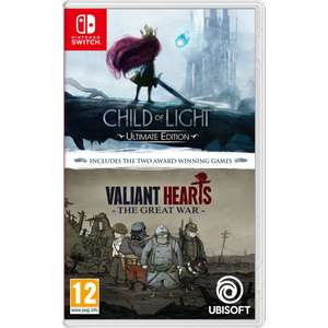 Double Pack Child of Light & Valiant Hearts sur Nintendo Switch