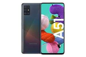 """Smartphone 6.5"""" Samsung Galaxy A51 - Full HD+, Exynos 9611, 4 Go de RAM, 128 Go, Noir"""