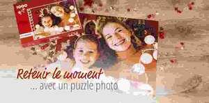 Puzzle photo personnalisé 500 pièces à 27.99€ ou 1000 pièces à 32.99€