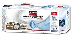 6 Recharges Rubson Aéro 360° Pure tabs Neutres 450 g, anti-humidité & anti-odeurs pour déshumidificateur