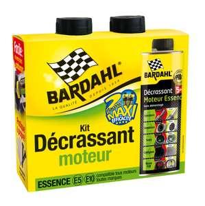 Kit de 2 décrassants moteur 5-en-1 Bardahl - Essence ou Diesel (2 x 300 ml)