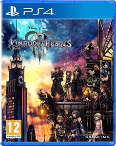Sélection de jeux PS4 en promotion - Ex : Kingdom hearts 3