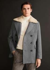 60% de réduction sur une sélection d'articles - Ex : manteau laine fausse fourrure amovible - Taille L (Hors nouvelle collection)