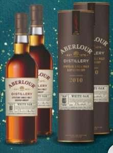 Lot de 2 bouteilles de Whisky Aberlour Millesime White Oak 10 ans