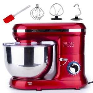Robot pâtissier multifonction Kitchen Move Dallas - 5.5 L, 1500 W, rouge