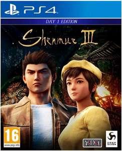 Shenmue III sur PS4