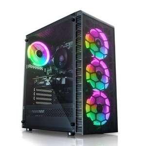 PC gamer AWD Observatory Lite Mesh - Ryzen 5 3500X, RTX 3060 Ti (8 Go), 16 Go de RAM (3000 MHz), 1 To en SSD, alim. 600 W, sans OS