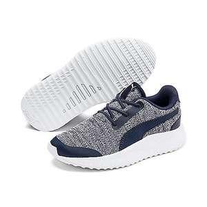 Chaussures pour enfant Puma PS Pacer N FS Knit AC - gris/bleu (du 28 au 35)