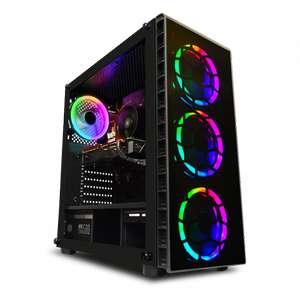 Ordinateur AWD Raider - Ryzen 5 3600XT, RTX-2060 Mini Dual OC (6 Go), 16 Go de RAM (3000 MHz), 240 Go en SSD, alim. Corsair CV650, sans OS