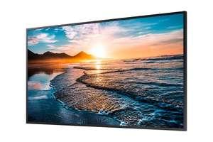 "Ecran PC LED 55"" Samsung QH55R New Edge Backlight - UHD 4K, 700cd/m2"