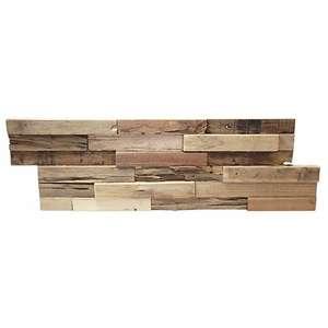 Plaquette de parement bois - Géant de la braderie à Bourgoin Jallieu (38)