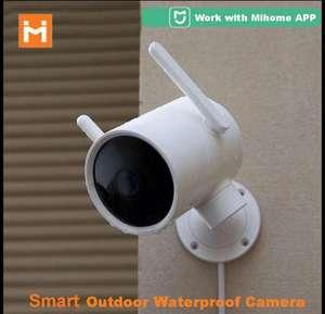 Caméra extérieure Imilab EC3 IP66 2K + Carte mémoire SD 32Go (Entrepôt Belgique)
