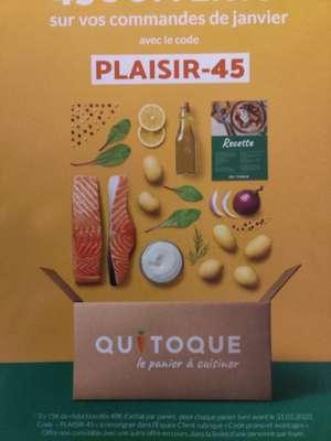 15€ de réduction sur 3 paniers repas de 49€ minimum