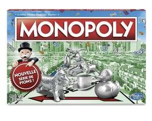 Jeu de société Monopoly Classique (via 4,49€ sur la Carte de Fidélité)