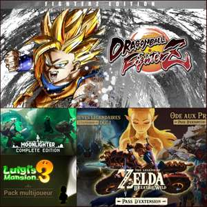 Sélection de Packs/Bundles Nintendo Switch en promo (Dématérialisé) - Ex: Dragon Ball FighterZ Edition FighterZ