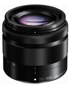 Objectif Panasonic Lumix G Vario 35-100mm f/4.0-5.6 ASPH. Mega O.I.S.