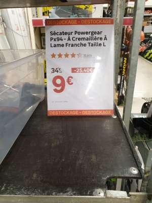 Sécateur Fiskars Powergear PX94 - Lame Franche Taille L (Rosny sous-bois 93)