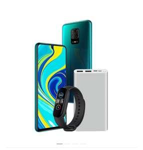 Smartphone Redmi Note 9S - 64 Go + Bracelet connecté Band 5 + Batterie externe Powerbank 3 - 10000mAh, 18W