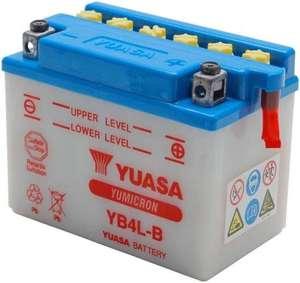 Batterie pour scooter Yuasa YB4L-B - 12 V, 4 Ah (la-becanerie.com)