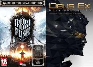 Deus Ex: Mankind Divided - Deluxe Edition à 1,61€ et Frostpunk Goty à 7,81€ sur PC (dématérialisés, DRM-Free, store Russe via VPN)