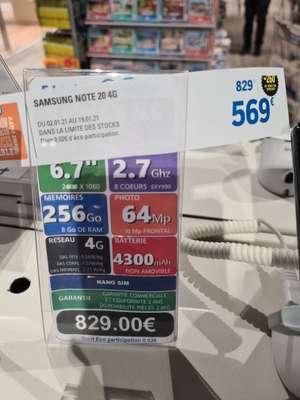 "Smartphone 6.7"" Samsung Galaxy Note 20 4G (256 Go) - Blagnac (31)"