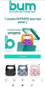 Une couche lavable Halloween 2020 offerte pour tout achat - BumDiapers.eu