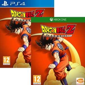 Dragon Ball Z Kakarot sur PS4 ou Xbox One