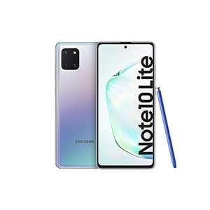 """Smartphone 6.7"""" Samsung Galaxy Note 10 Lite - Dual SIM, 6 Go de RAM, 128 Go, Aura Glow"""
