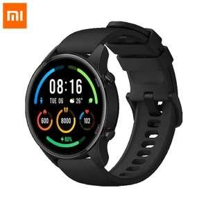 Montre connectée GPS Xiaomi Mi Watch Color Édition Sports - bleu ou noir