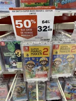 Super Mario Maker 2 sur Nintendo Switch édition limitée + 12 mois d'abonnement Nintendo Online - Saint Priest (69)