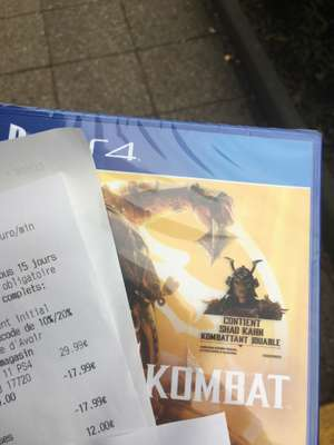Mortal Kombat 11 sur PS4 - Villebon (91)
